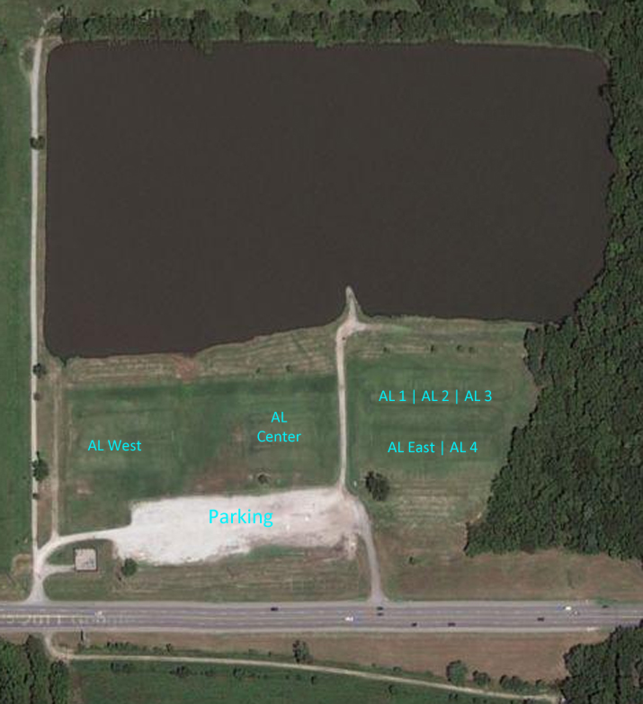 Adams Lake Field Map