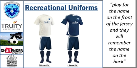 Recreational Uniform Information